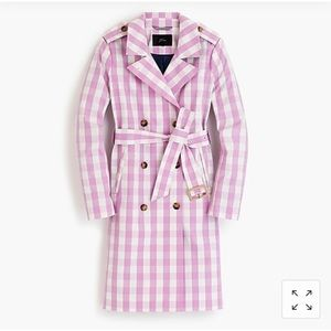 Women's 2011 Icon trench in oversized gingham 12